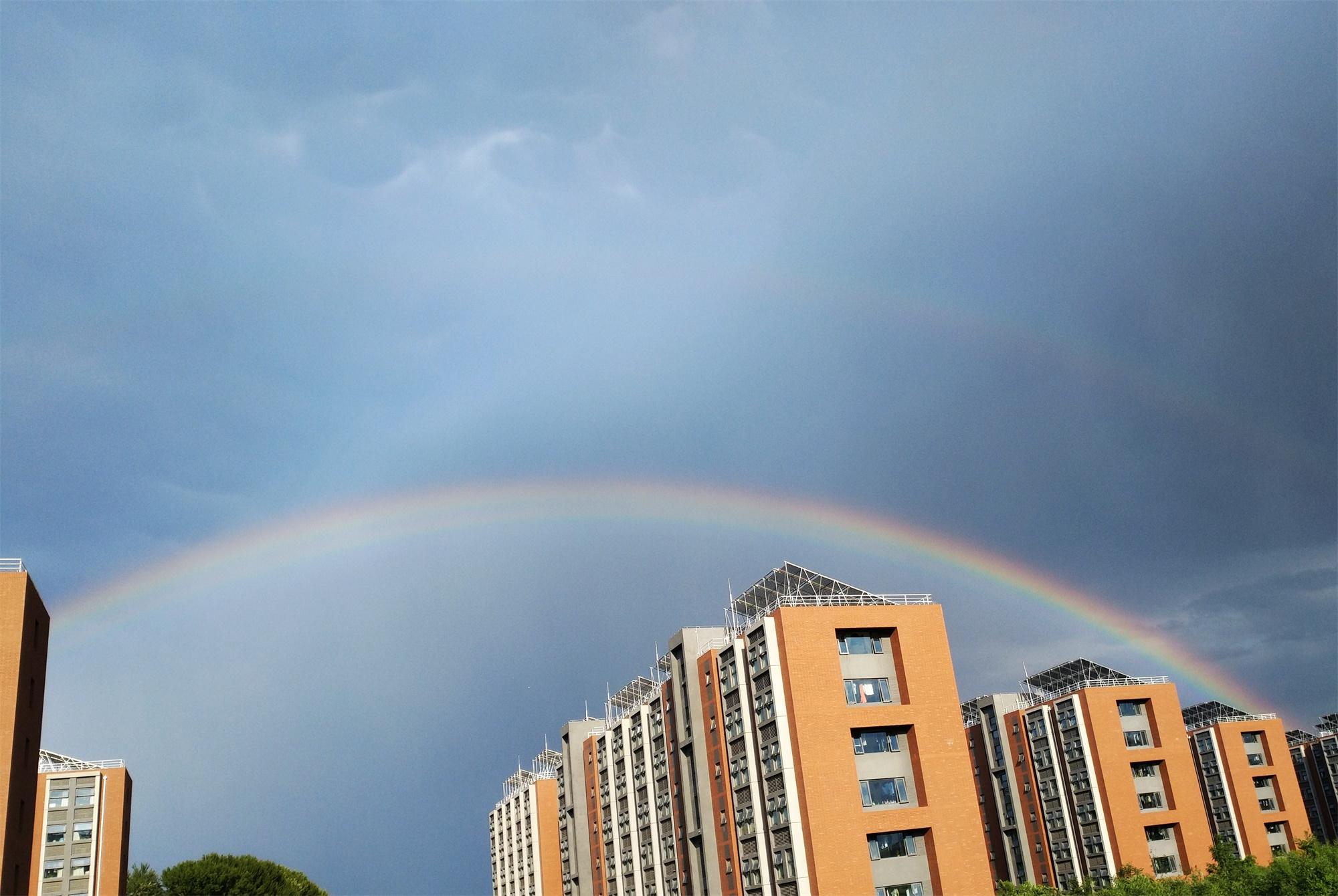 天空的彩虹